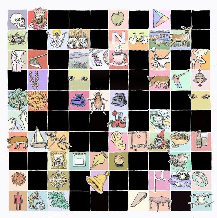 Visual Crossword no.1